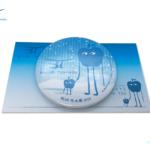 【限定商品】BLUE TOKYO「BLUE 冬大祭」限定 缶バッチ・ステッカー・クリアファイル