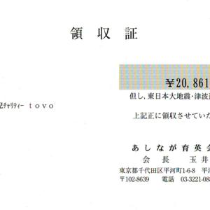 第13回 寄付ご報告(2012.6.30)
