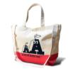 【新商品】「AA」ヘヴィーキャンバス スイッチング トートバッグ(レッド/ナチュラル)