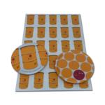 【新商品】WORMY APPLEシリーズ「DRUM」 &「DRUM DOT」54mm缶バッチとポストカード