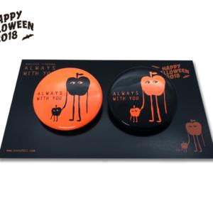 【季節限定】「HAPPY HALLOWEEN 2018」31mm 缶バッチ