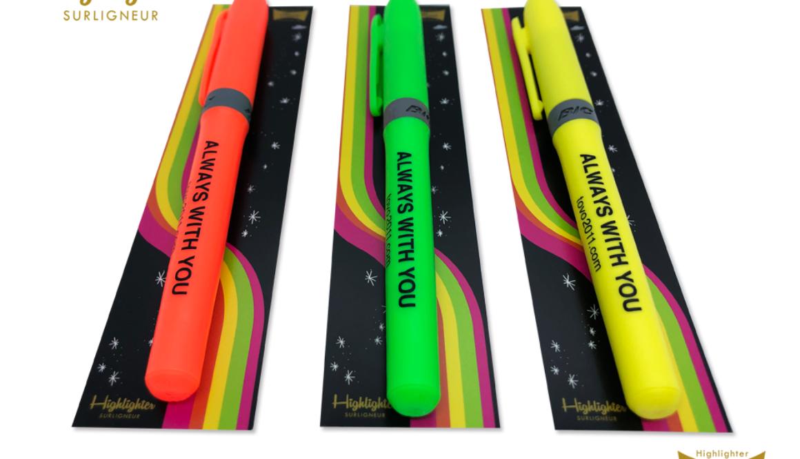 【新商品】トヴォのマーキングハイライター(蛍光グリーン/蛍光イエロー/蛍光オレンジ)