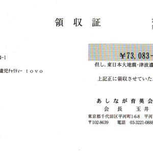 第9回 寄付ご報告(2012.2.29)