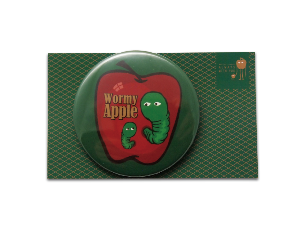 wormy-apple-54mm-button