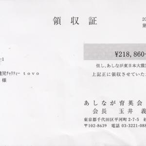 第54回 寄付ご報告 (2018.12.25)