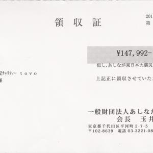 第58回 寄付ご報告 (2019.8.26)