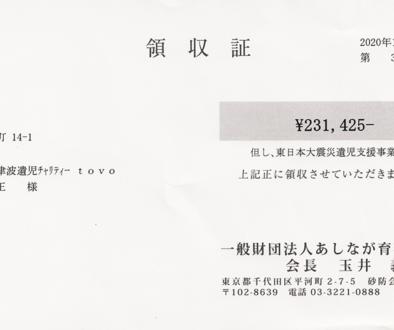 第66回 寄付ご報告 (2020.12.18)