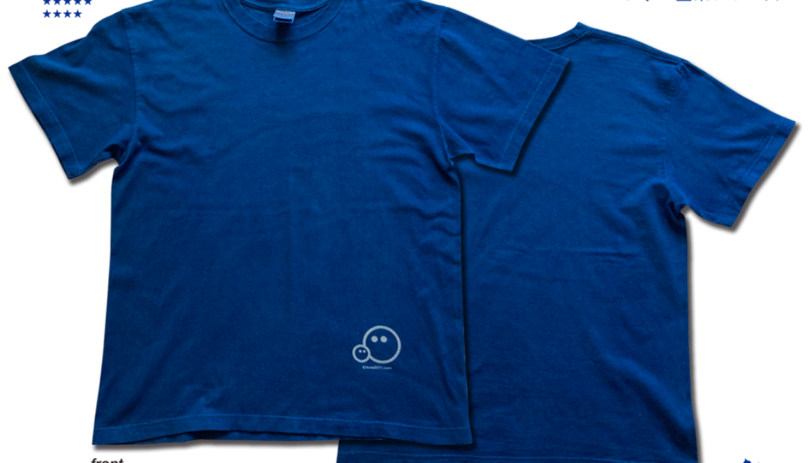 【新商品】tovo藍染Tシャツとてぬぐい(2020年版)