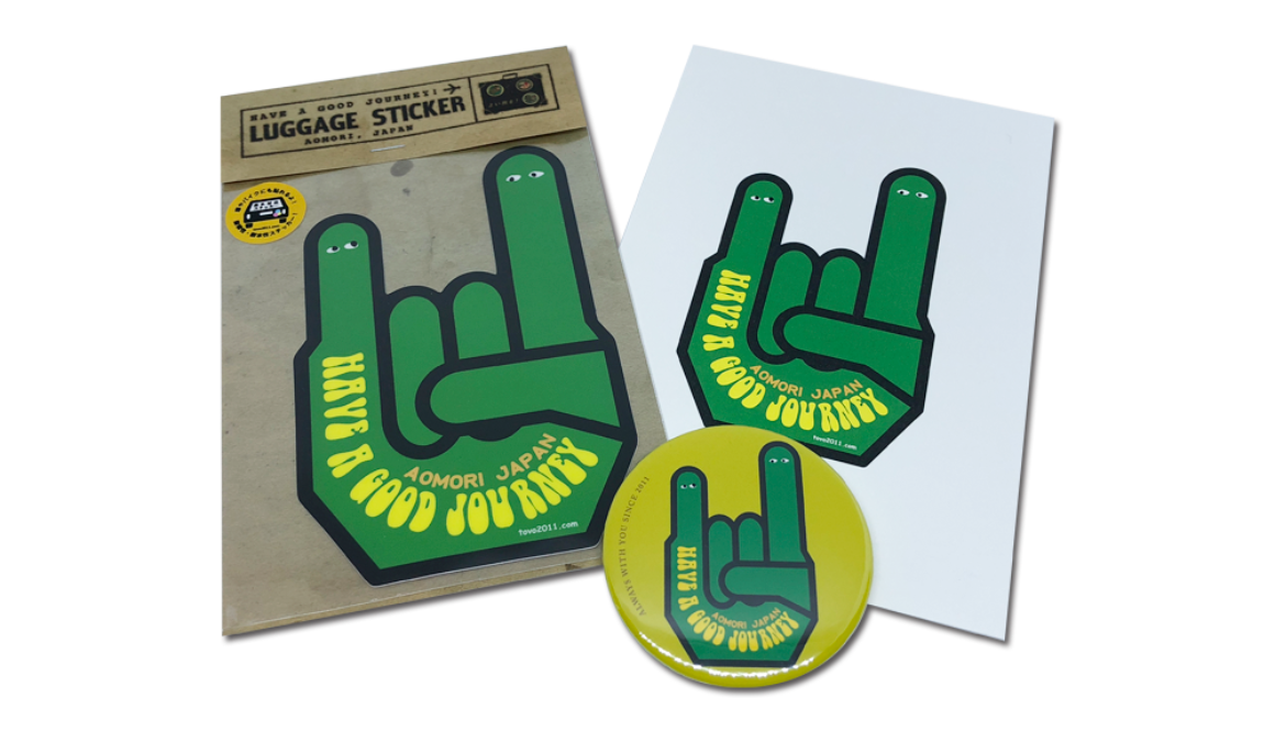 【新商品】HANDSIGN 〜HAVE A GOOD JOURNEY! シリーズ