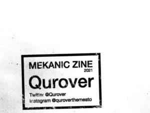 「MEKANIC ZINE/Qurover」の進捗状況について
