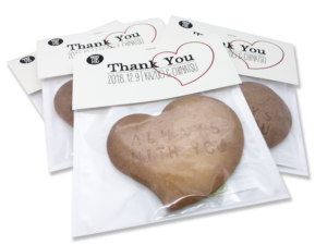 【tovoプチギフト】新郎新婦の幸せを子供たちとシェアするクッキー