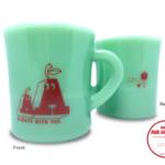 【新商品】トヴォのミルクガラスマグ (AA ジェード)