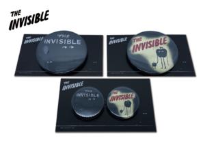 【新商品】「The Invisible」31mm&54mm缶バッチ
