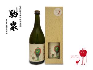【新商品】駒泉 特別純米酒「アマビエ」tovo(トヴォ)ver.