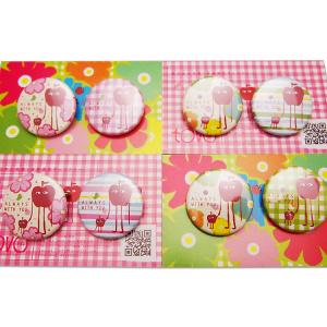 【季節限定商品】春よ来い 2012 チャリティ缶バッチ